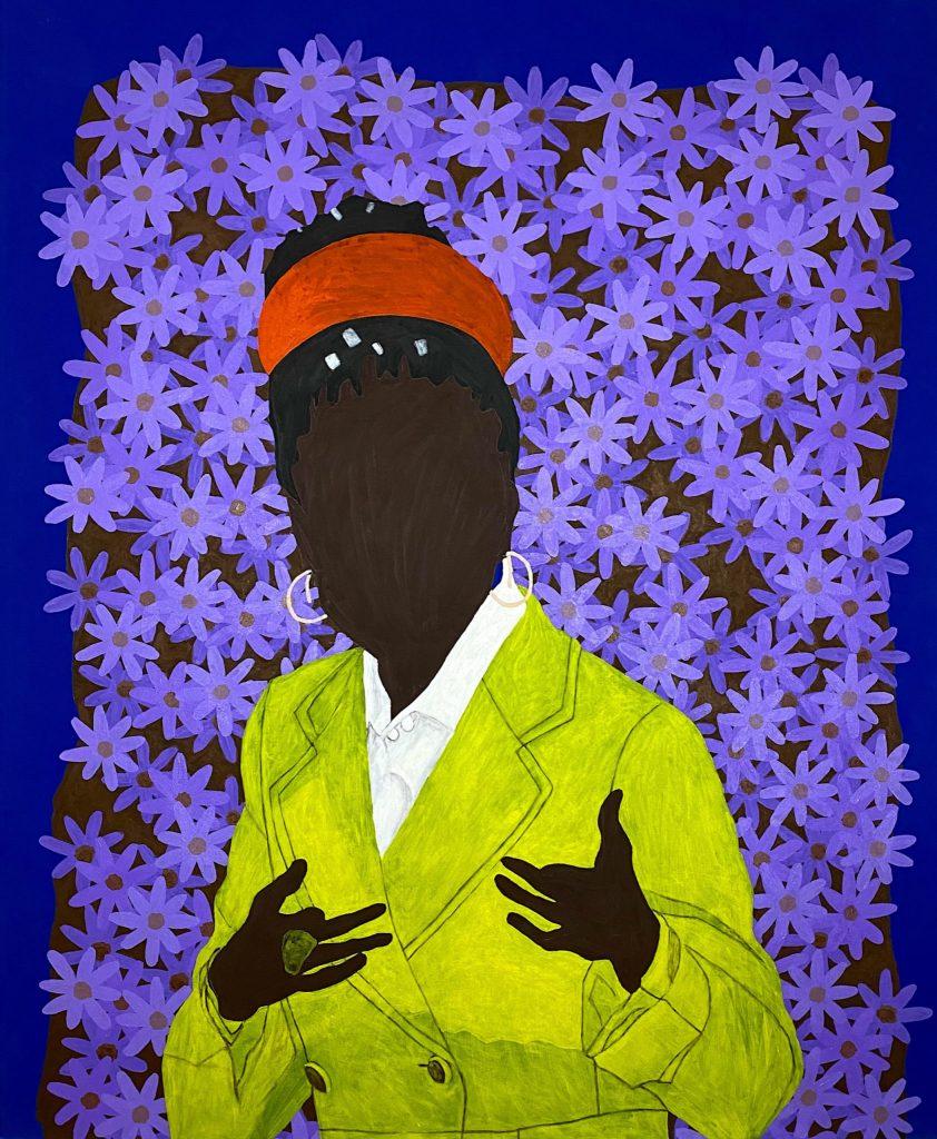 Raphael Adjetey Adjei Mayne, <em>AMANDA GORMAN</em> (2021). Courtesy the artist and Destinee Ross-Sutton.
