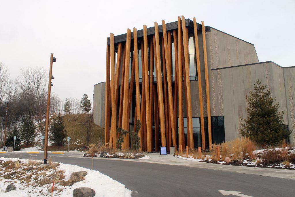 Exterior view of the Art Preserve in Sheboygan, Wisconsin. (Photo by Rain Embuscado.)