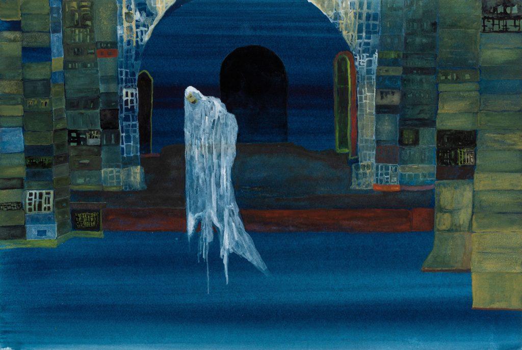 John Lurie, <i>Ghost On Stilts</i>. Courtesy of HBO.
