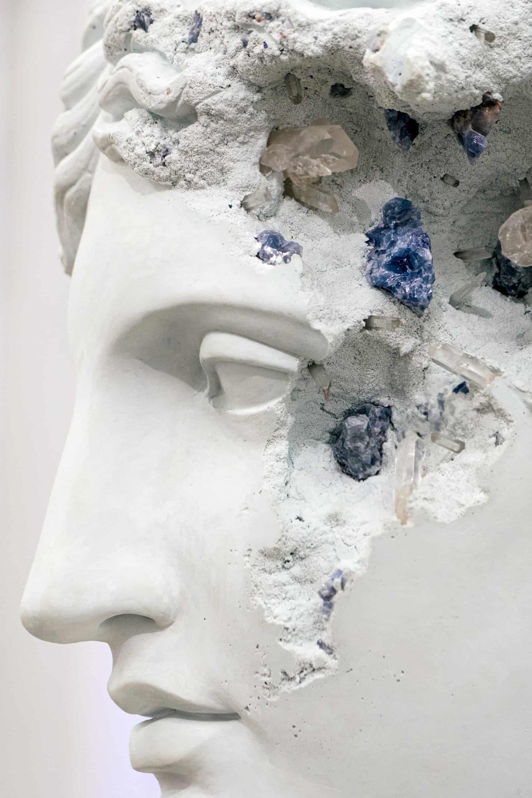Daniel Arsham, PARIS, 3020, Perrotin. 📷 Olga Serjantu